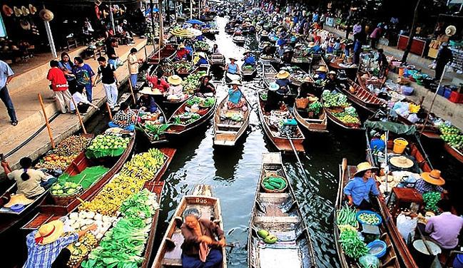 嫩交_【英文导游】丹嫩沙多水上市场 玫瑰花园1日游(曼谷必