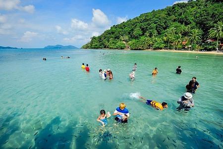 【东方夏威夷】芭提雅珊瑚岛金沙岛一日游套餐12(送
