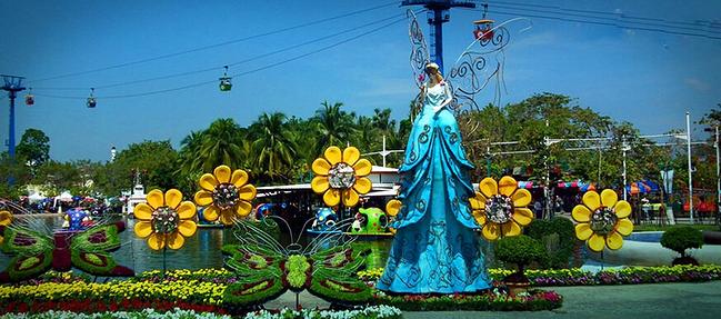 曼谷梦幻世界亲子玩乐一日游