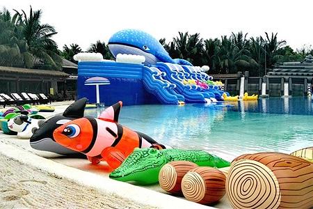 海口观澜湖动物星球主题水上乐园儿童票
