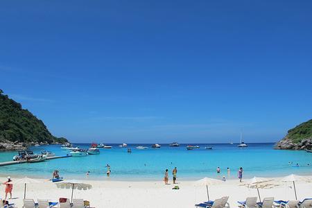 泰国 普吉岛皇帝岛 珊瑚岛浮潜nikorn快艇一日游(一日游 珊瑚岛深潜)