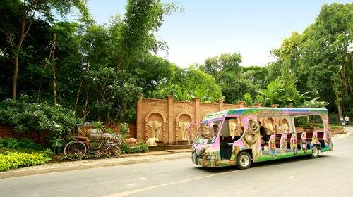 泰国清迈夜间动物园