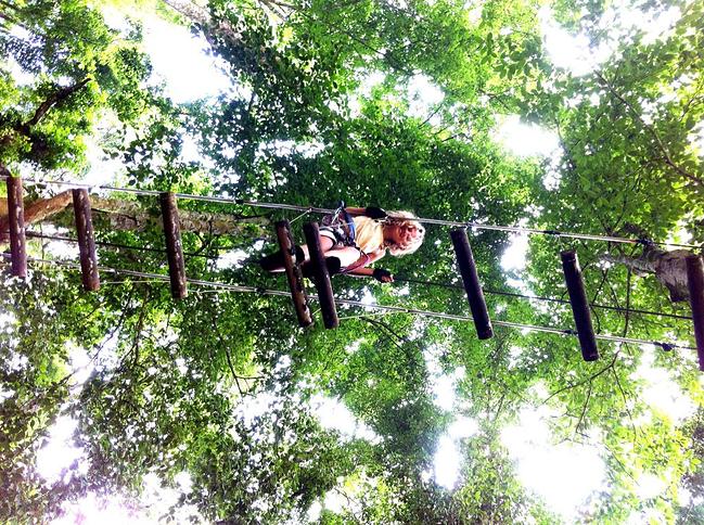 巴厘岛树顶冒险公园门票(成人票)