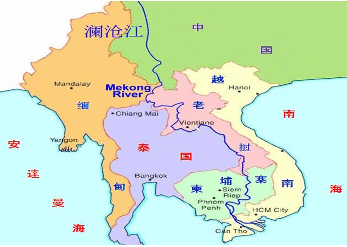 丝巾青海手绘地图