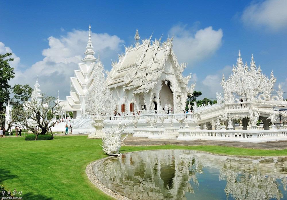 泰国著名建筑手绘