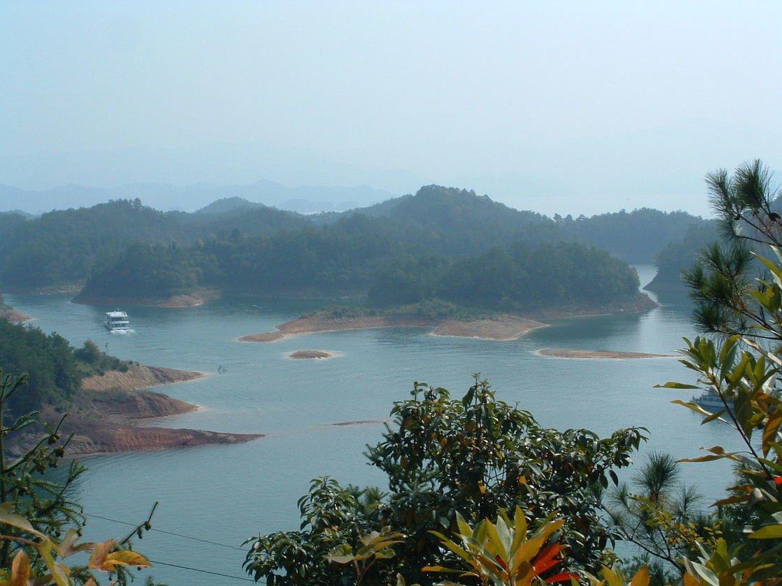 千岛湖风景区-千岛湖梅龙岛高清图片