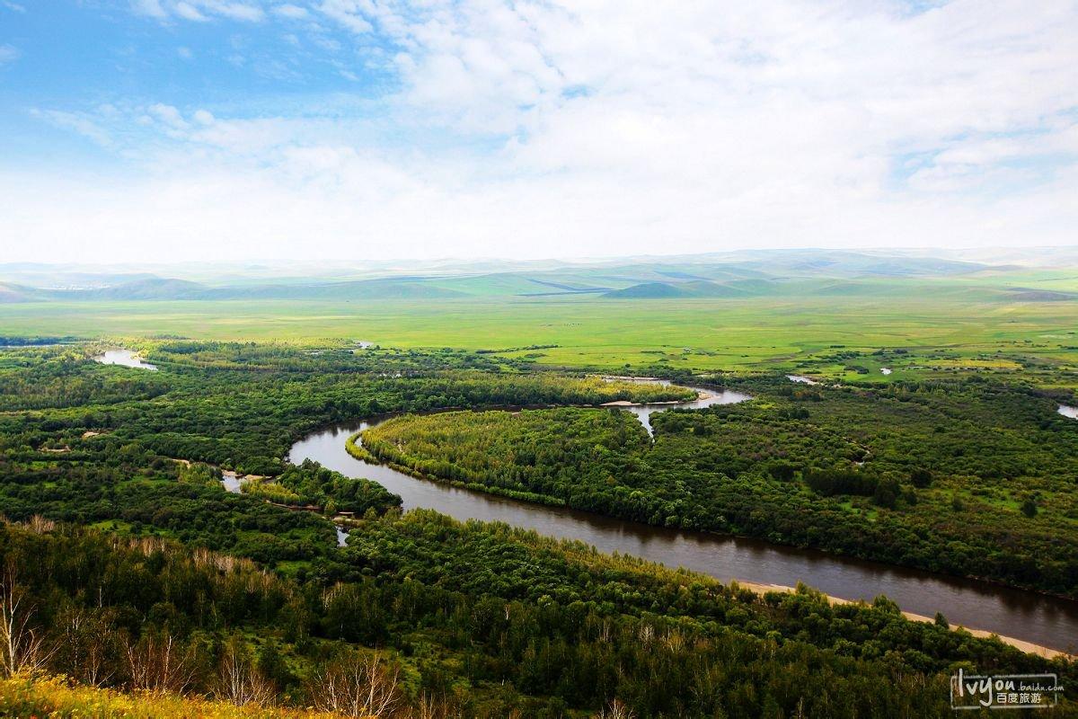 呼伦贝尔大草原,室韦,大兴安岭原始森林环线3日游