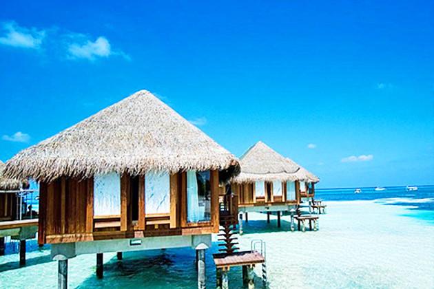 单酒店套餐>马尔代夫卡尼岛6天4晚 *2晚沙滩别墅 2晚