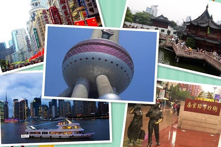 苏州园林杭州西湖千岛湖上海四日游,全程无自费天天开班,含往返高铁