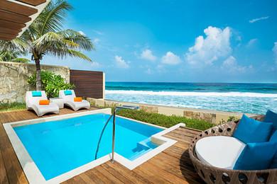 亏本价充销量 马尔代夫 满月岛 4晚豪华沙滩别墅 早餐
