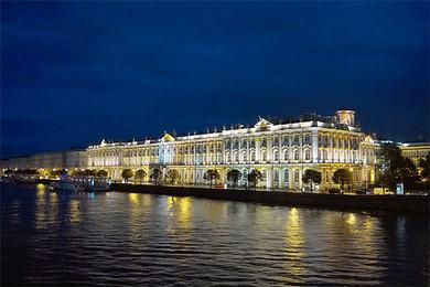 莫斯科郊外晚上
