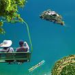 错峰爆款:360°环湖+划船登岛+篝火晚会+猪槽船+湖景房