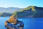 从LJ去泸沽湖,晚入住:湖思茶屋国际青年旅舍