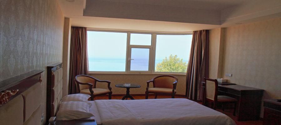 蓬莱阁+长岛+长岛海都大酒店(标准海景房)2晚+蓬达金港湾大饭店(标准