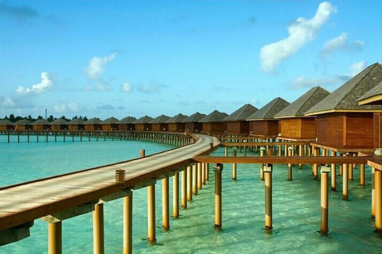 热卖马尔代夫5星 双鱼岛 2沙2水 早晚餐 快艇接送