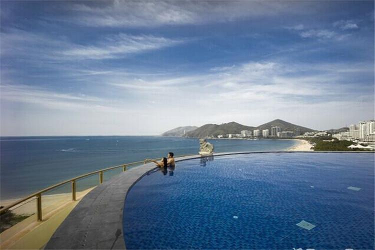 """三亚哈曼度假酒店位于海南省三亚市大东海旅游度假区,直面绵延3公里""""图片"""