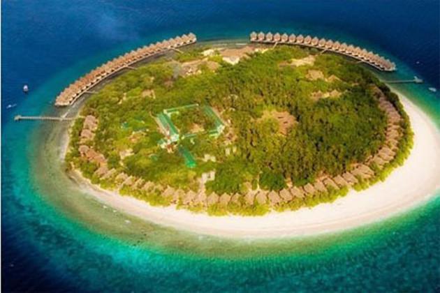 马尔代夫月桂岛,一屋一天堂,2晚沙屋+2晚水屋,精美早餐+接送机,内陆