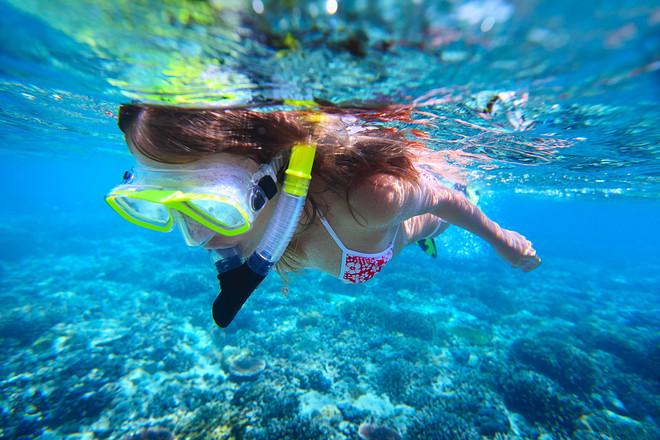 救生衣浮潜