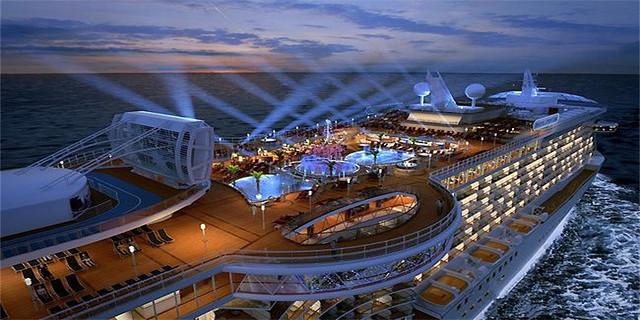 海洋餐厅工业风效果图