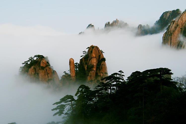 黄山千岛湖杭州5天4晚品质游 观日出 宿湖景房 船游千岛湖 免费接站