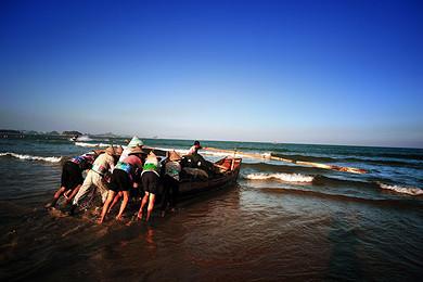 【嵊泗列岛】嵊泗原生态蓝色海岸休闲旅游度假带景区,六井潭 和尚套