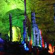 探秘洞穴<恩施利川腾龙洞一日游>赏高科技激光秀 看大型歌舞秀