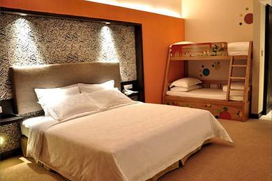 背景墙 房间 家居 酒店 设计 卧室 卧室装修 现代 装修 390_259