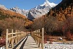稻城拼团--76km--日瓦--34.6km--亚丁村