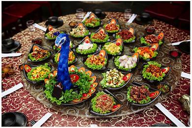 全程指定五星酒店 超五星温泉spa,尊享特色美食:孔雀宴,勐卯宴,腾冲