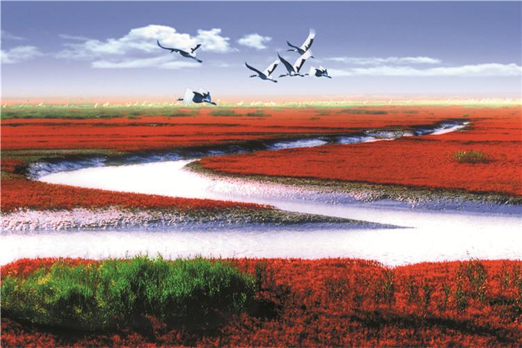 兴城葫芦岛,红海滩风景廊道,笔架山,龙回头休闲含景区门票,享特色海鲜