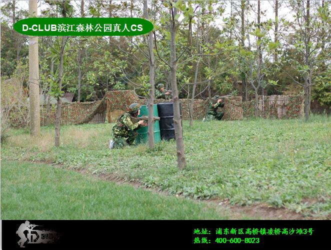 【【滨江森林公园】滨江森林公园+真人cs团购】-上海图片