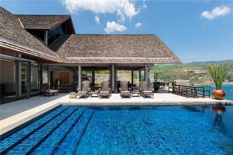 【海边独栋度假别墅】门前就是泳池,您可在专属泳池里度过美好的时光