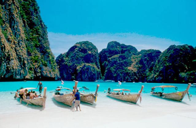 泰国普吉岛旅游 ka航空 无自费 攀牙湾 海上回教村 占士邦007岛 割喉