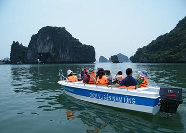 越南下龙湾,天堂岛,月亮湖,河内4天3晚异国风情游(品质游),护照落地