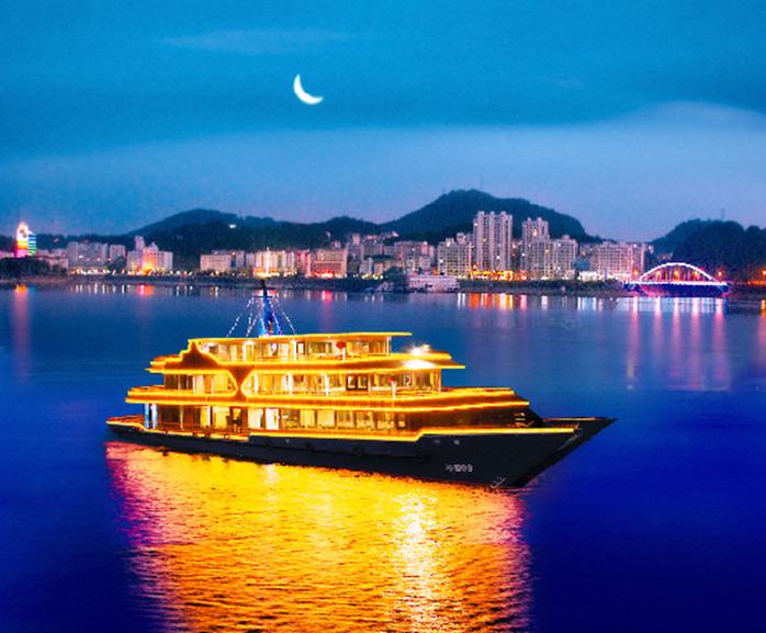 千岛湖夜游(【千旅之星夜游船】成人船票)2张 千岛湖36都文化主题酒店