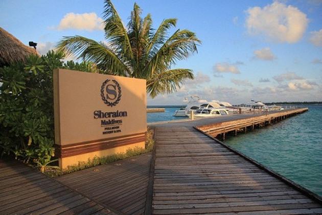 马尔代夫满月岛4晚6天自由行 上海直飞,4晚沙屋 含早餐 快艇接送