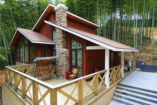 中式木屋效果图