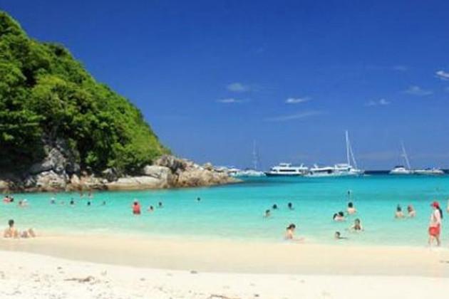 泰国普吉岛蜜月岛双体帆船一日游 (含中文导游+接送)
