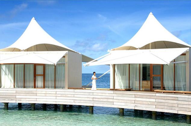 奢华浪漫马尔代夫杭州起止-马尔代夫宁静岛2晚沙滩别墅+2晚水上别墅