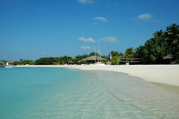 超值特惠&马尔代夫满月岛6天4晚自助游&2晚沙屋+2晚水