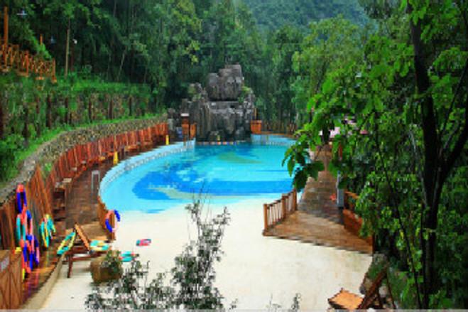 宁海森林温泉,天明山森林公园2日巴士跟团游(可自选商