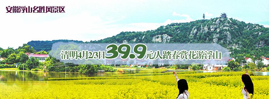 安徽浮山油菜花