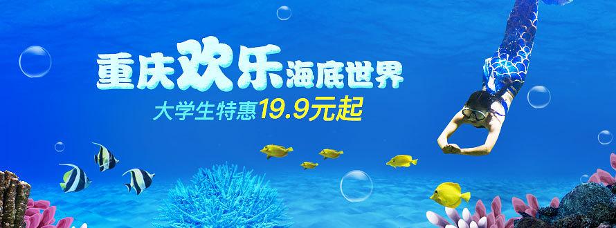 重庆欢乐海底世界大学生