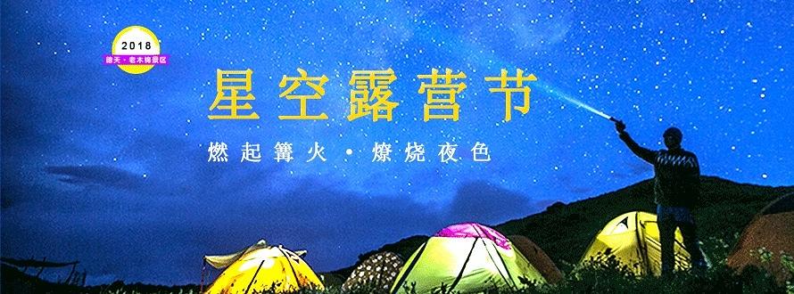 老木棉紫园景区星空露营节