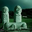阿尔泰草原石人