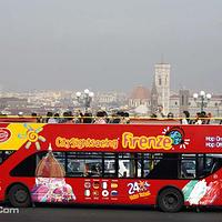 意大利佛罗伦萨双层观光巴士
