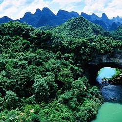 鹿寨香桥国家地质公园
