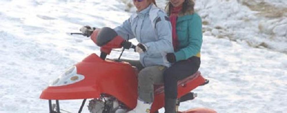 雪原飞驰--雪地摩托