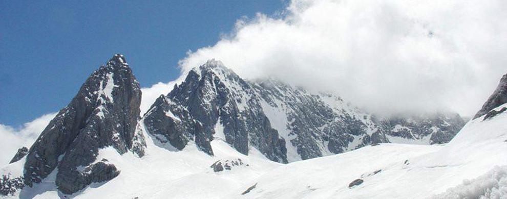 天然滑雪场