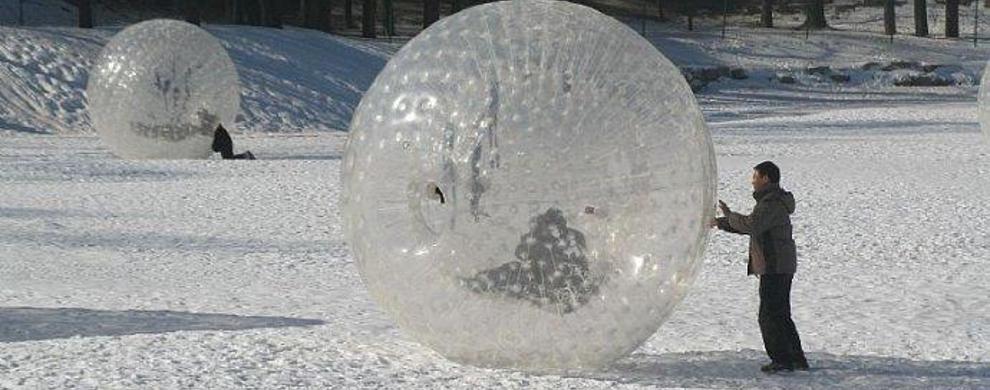 雪地悠波球